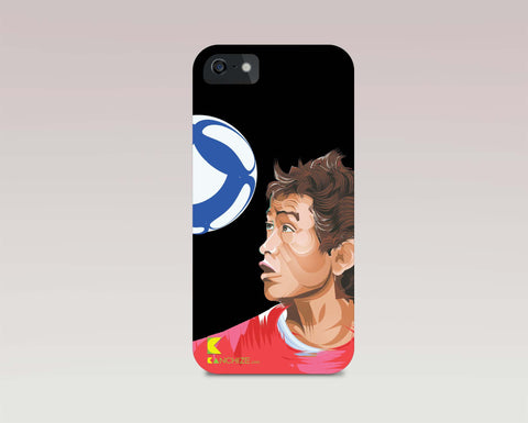 Mobile phone cover - Baichung Bhutia