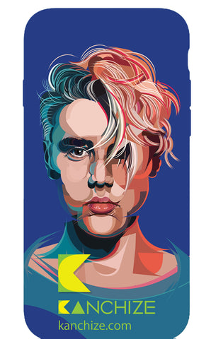 Mobile phone cover - Justin Bieber