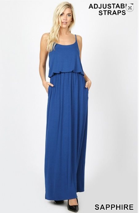 Adjustable Strap Maxi