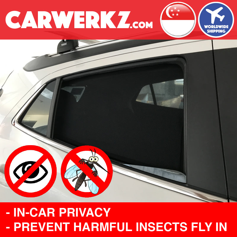 Seat Leon 2012 2013 2014 2015 2016 2017 2018 2019 3rd Generation (MK3 Typ 5F) Spain Hatchback Compact Customised Car Window Magnetic Sunshades 6 Pieces increase in car privacy like solar film anti mosquitoes and harmful insects - carwerkz sg my au fr it mc
