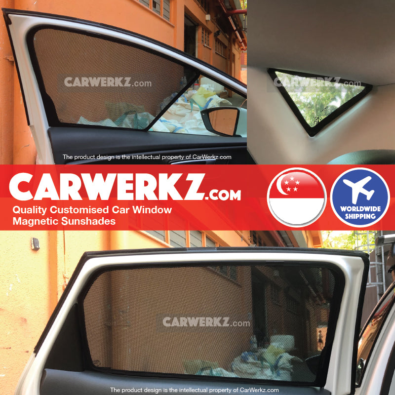 Seat Leon 2012 2013 2014 2015 2016 2017 2018 2019 3rd Generation (MK3 Typ 5F) Spain Hatchback Compact Customised Car Window Magnetic Sunshades 6 Pieces fitting photos - carwerkz sg my au fr it mc