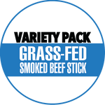 100% Grass-Fed Beef Sticks Variety Pack
