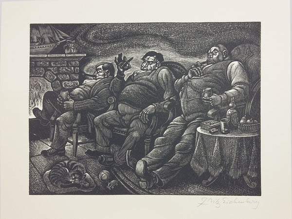 A Child's Christmas in Wales. Illustrated by Fritz Eichenberg.