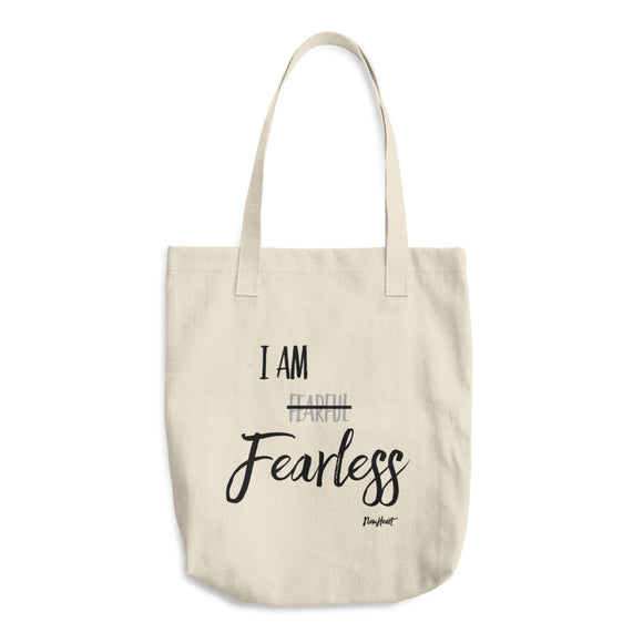 Fearless Cotton Tote Bag