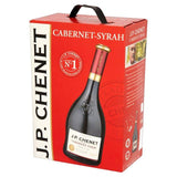 "J.P. Chenet Cabernet Syrah Red Wine Dry 12.5% ""Bag in Box"" 3L"