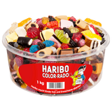 Haribo Liquorice Mix Colorado 1kg