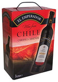 "El Emperador Cabernet Carmenere Red Wine 13% ""Bag in Box"" 3L"