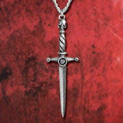 Hand of Macbeth Dagger Pewter Pendant