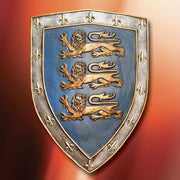 Shield of the Three Lions - Hand-finished Resin