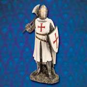 Templar Knight Painted Statue