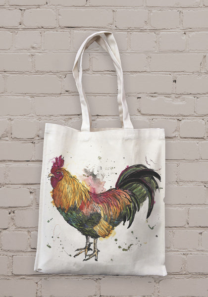 Cockerel Tote Bag