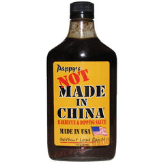 Pappy's Not Made in China BBQ Sauce