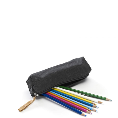 QWSTION Pencil Pouch – Washed Black – buy at GUDBERG NERGER SHOP