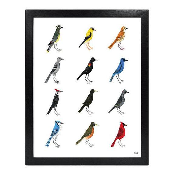 """Birds of the South - First Edition"" - Collection Giclée"