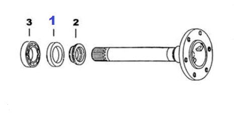 SFAS-4447 REAR AXLE SEAL