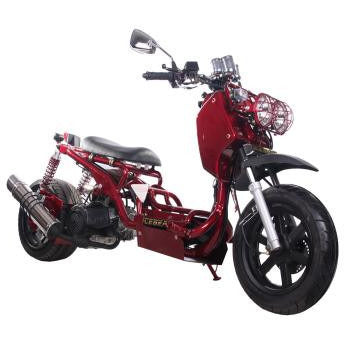 Maddog 150 Scooter 150cc Metallic Burgundy
