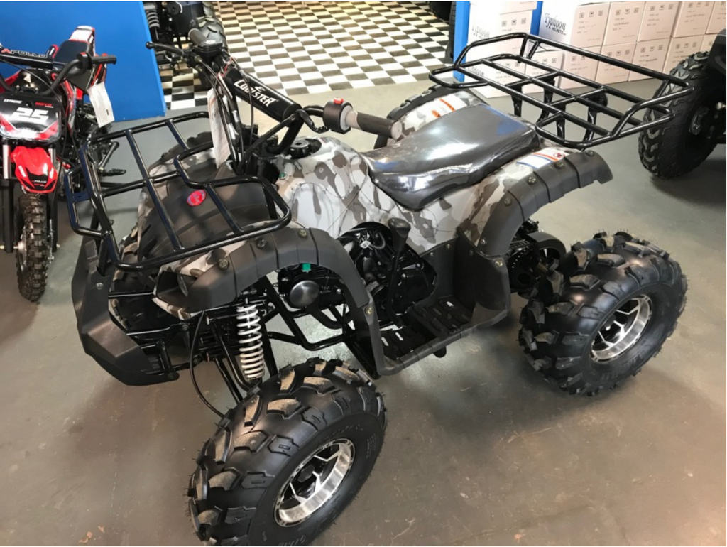 Coolster 3125XR8-U3(3125XR8U WITH CHROME WHEELS) 125cc ATV