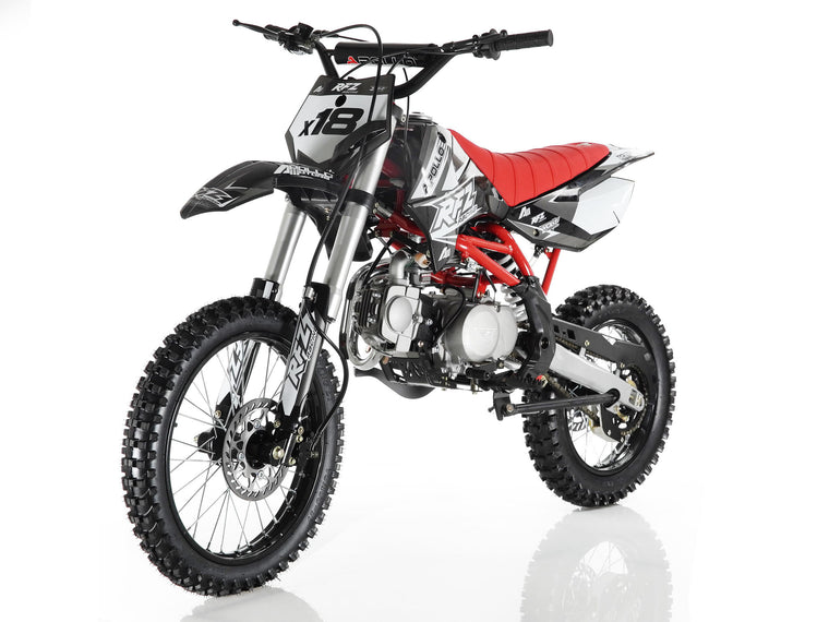 Apollo X18 Dirt Bike 125cc Black