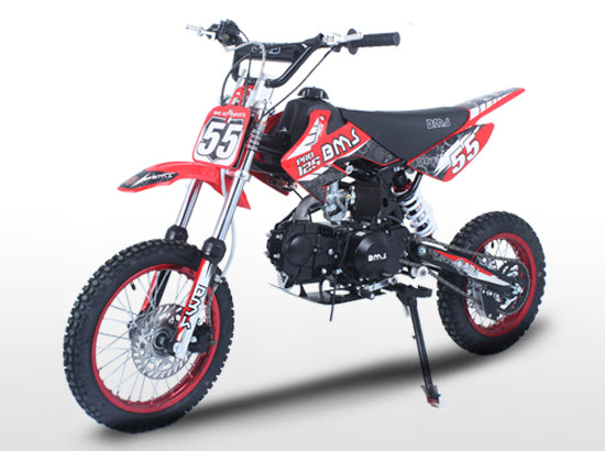 BMS PRO125 Racing Competition Red