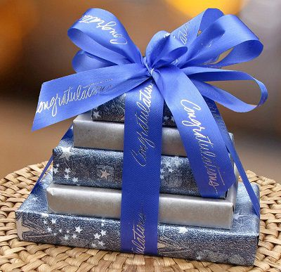 Congratulations 5 tier gift tower (c) 2015 Heartwarming Treasures®