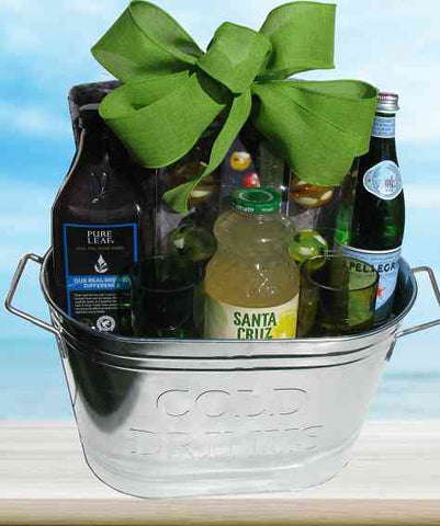 Patio Party Tea Lemonade Gift Basket (c) 2018 by Heartwarming Treasures®