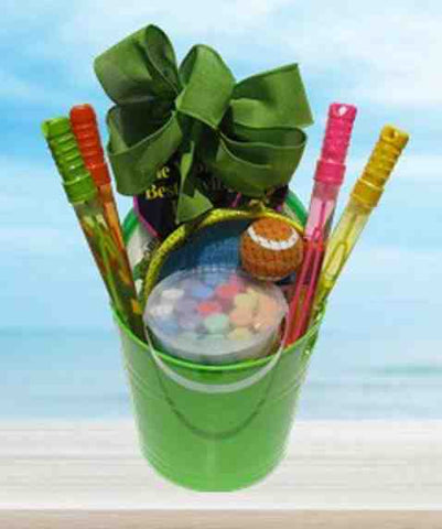 Backyard Fun Gift Basket (c) 2018 by Heartwarming Treasures®