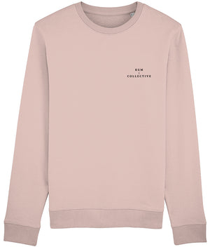 KGM COLLECTIVE SWEATSHIRT - HEATHER PINK // HEATHER GREY
