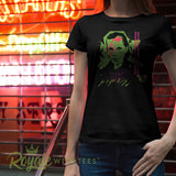 Eleven Stardust Stranger Things Ladies 80s punk Tee
