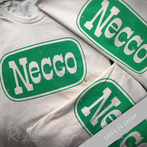 Necco Candy T-Shirt Green on Cream