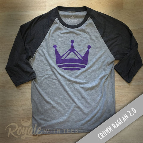 Royale Crown Raglan 2.0 Unisex Baseball Shirt