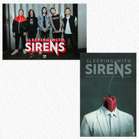 Sleeping With Sirens - 'How It Feels to Be Lost' Neon Red Inside Clear Gatefold Pre-Order Vinyl