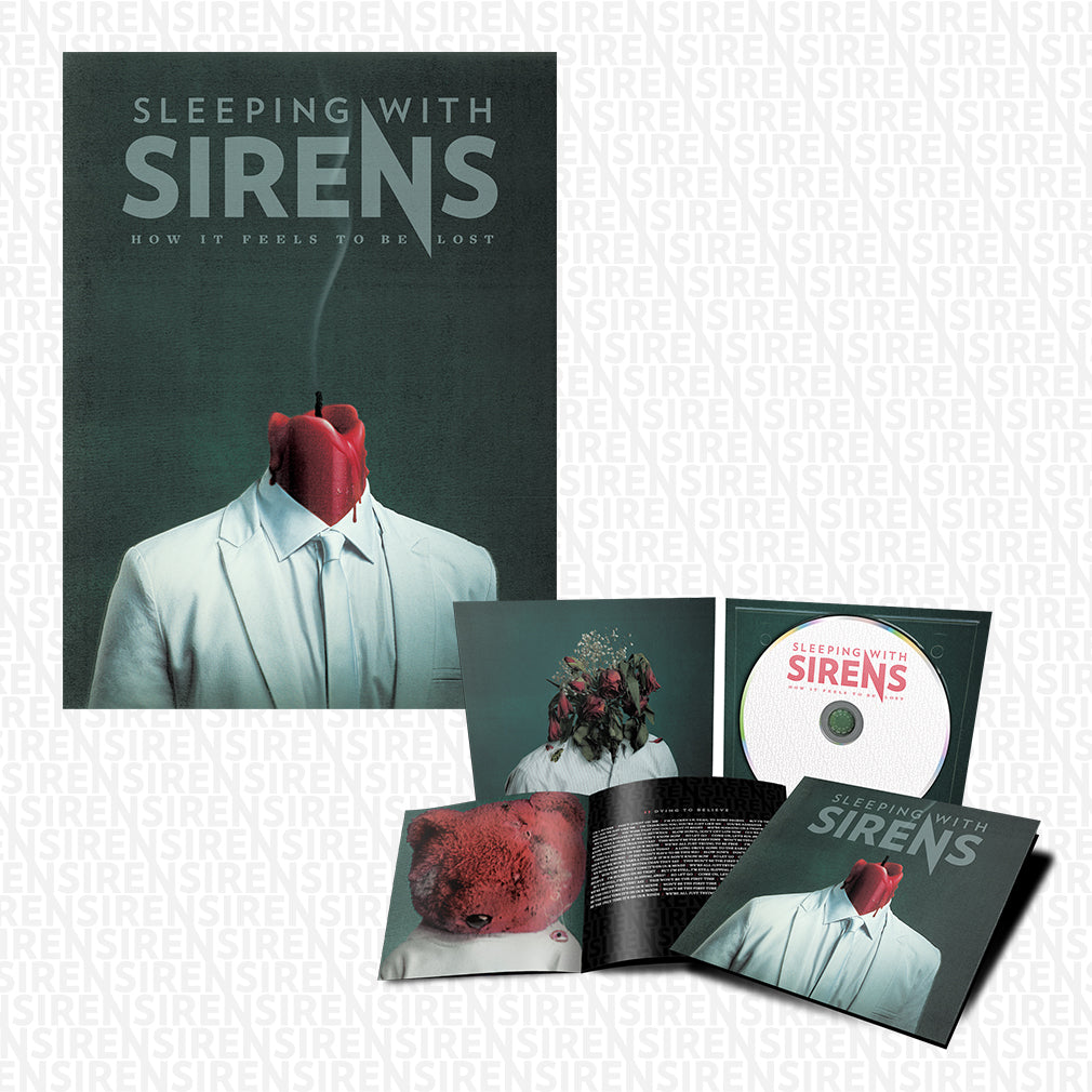 Sleeping With Sirens - 'How It Feels to Be Lost' CD Digipak Pre-Order Bundle