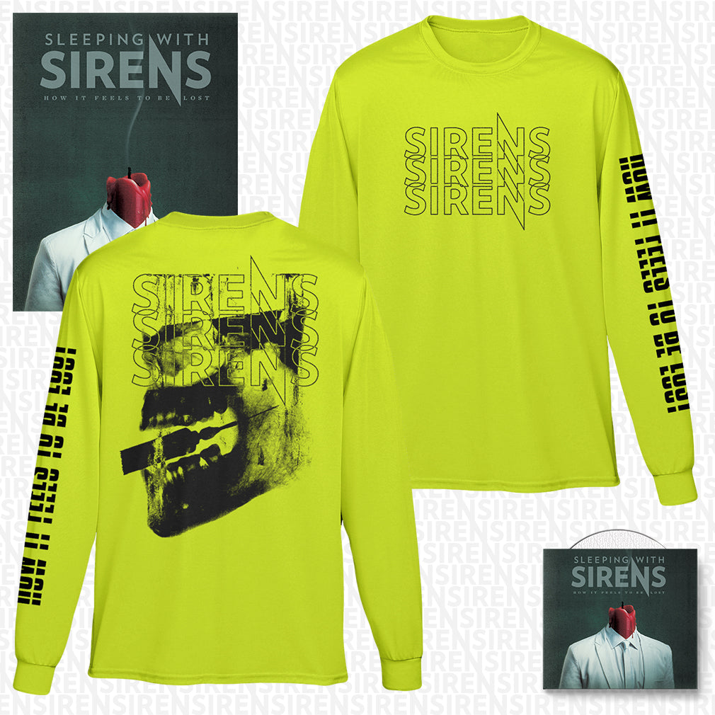 Sleeping With Sirens - 'How It Feels to Be Lost' Injection Longsleeve Pre-Order Bundle