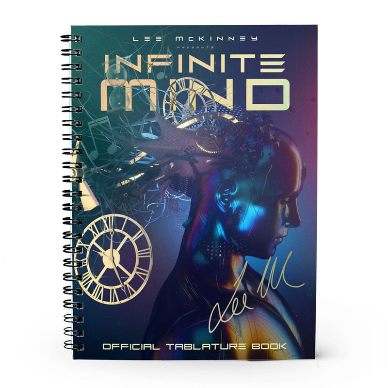 Lee McKinney - 'Infinite Mind' Signed Tablature Book