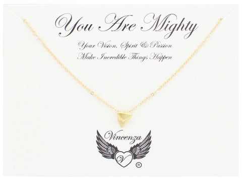Gold You Are Mighty Necklace