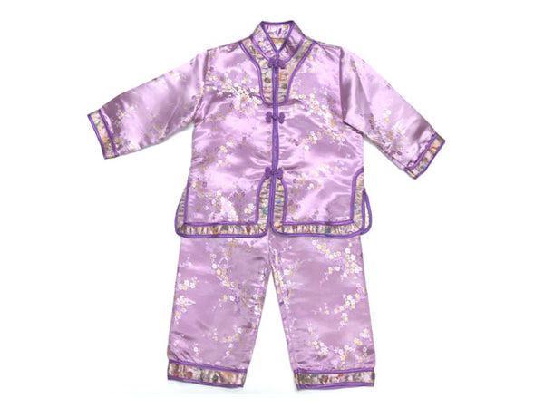 Brocade Girls Long sleeves Outfit ( Temp out of stock all sizes and colors)