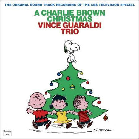 <b>Vince Guaraldi Trio </b><br><i>A Charlie Brown Christmas<br>Green Vinyl Pressing</i>