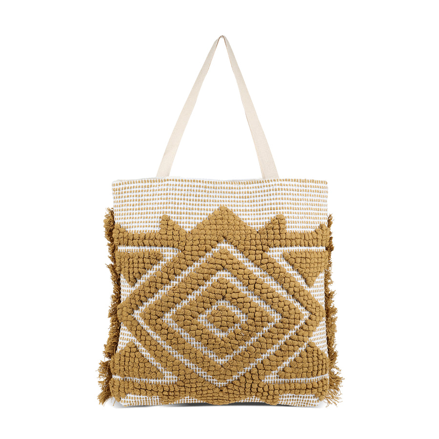 the Ibiza collection - olive boho bag