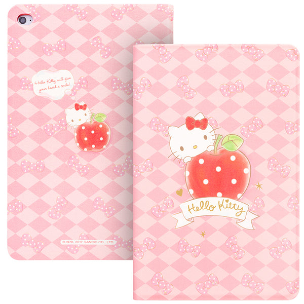 UKA Hello Kitty Auto Sleep Folio Stand Leather Case Cover for Apple iPad mini 4
