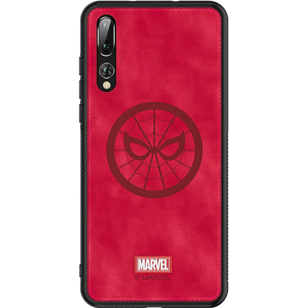 UKA Marvel Avengers TPU Frame Fabric Back Case Cover
