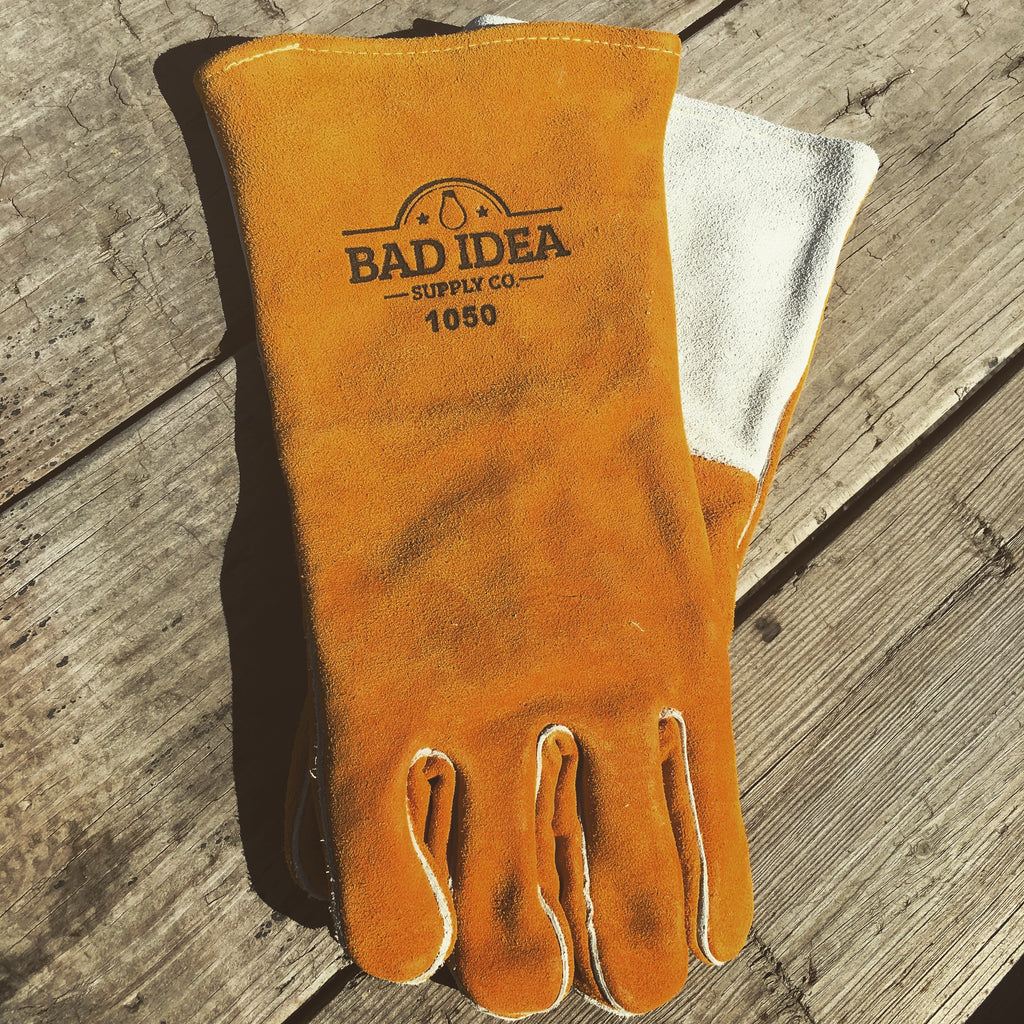 Leather Gloves Shirts - Bad Idea Supply Co.