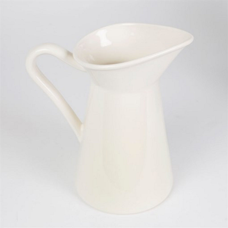 Cream Ceramic Water Jug