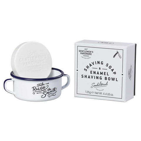Gentlemen's Hardware Shaving Bowl & Soap
