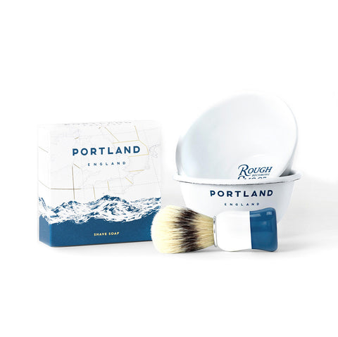 Portland England Traditional Shave Gift Set