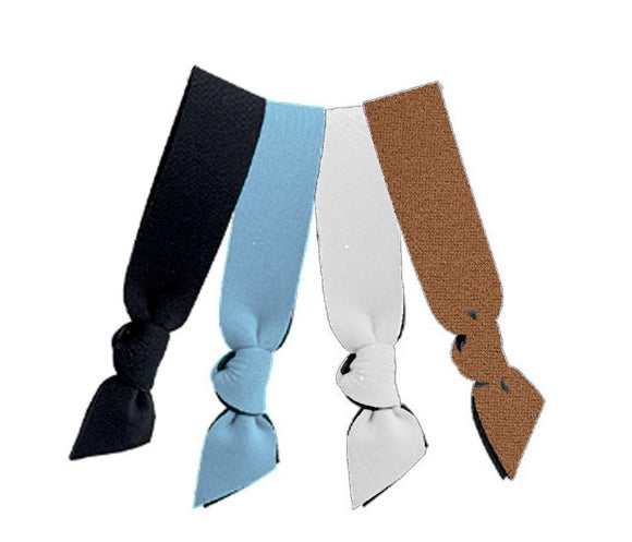 *Neoprene Hair Ties - Dusky 4 Pack