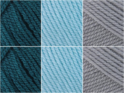 Stylecraft Special DK Sparkling Sea Colour Pack by Deramores Customer Carol Dunn