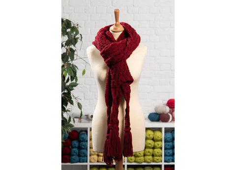 Autumn Drift Scarf by Charmaine Fletcher in Stylecraft Special Chunky