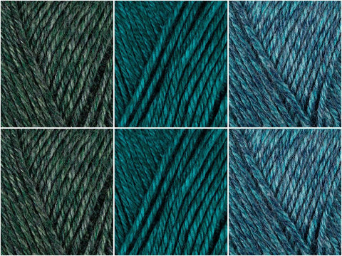 Emerald City Colour Pack in Lion Brand Heartland