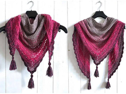 Ana Lucia Shawl by Wilmade in Scheepjes Whirl