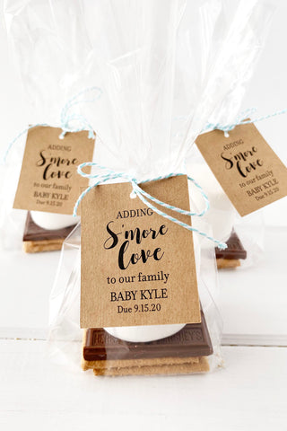 Adding Smore Love To Our Family Tags - Invited Too